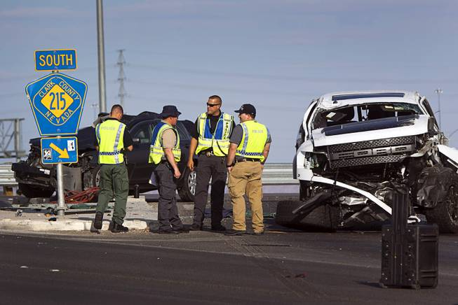 Fatal accident investigated at Sunset and 215 Beltway - Las Vegas