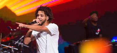 J. Cole's tour at MGM Grand
