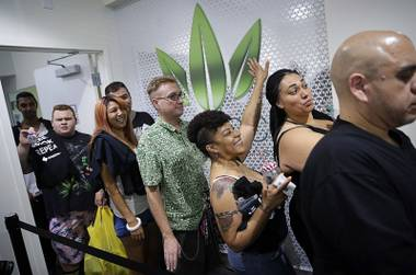 With more than 45 dispensaries in the Las Vegas Valley and 62 statewide expecting increased sales for the unofficial pot holiday, here's a look at 20 ways that legal weed has affected our state:
