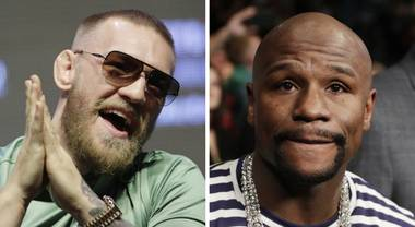 Floyd Mayweather's boxing match against Conor McGregor will be held at T-Mobile Arena in Las Vegas after promoters reached an agreement with Ice Cube to move ...