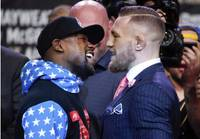 Conor McGregor's improbable challenge of Floyd Mayweather Jr. could be seen by a staggering 50 million people in the United States as fans and the curious gather in small and large parties. The fight Saturday night threatens the ...