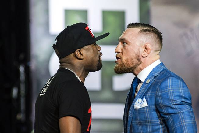 Conor McGregor vows to knock Floyd Mayweather out!