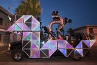 If you've always wanted to experience Burning Man and aren't able to make the trek to Northern Nevada, Lyft and Zappos are bringing a popular portion of the annual cultural event to you. ,,,