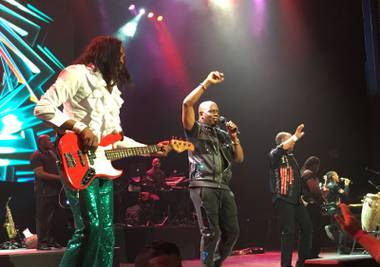 Earth, Wind & Fire at the Pearl on July 14.