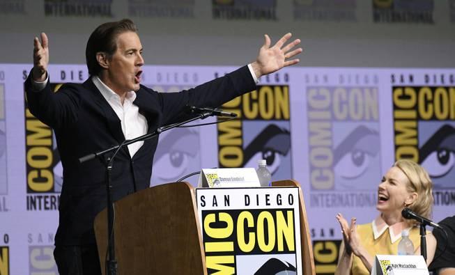 'Twin Peaks' Helps Keep Comic-Con Weird