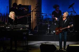 Lindsey Buckingham, Christine McVie Concert at Park Theater