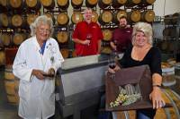 The part-owner of Grape Expectations discusses the four stages of the winemaking process, shares tips for those interested in creating their own wine, and explains why her team thinks of the workplace as more of a community than a workplace.