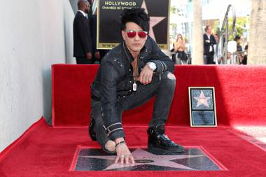 Doing 10 shows a week leaves precious little time for quick trips to Los Angeles, but Criss Angel was able to carve out a few hours last week to receive a star on the Hollywood Walk of Fame. His contract at Luxor will be up next October. Will he return to the Strip or take his show ...