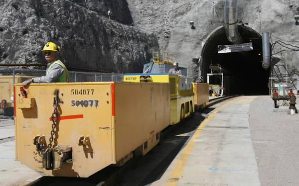 Despite senator's concerns, Perry says 'Yucca Mountain is the law'