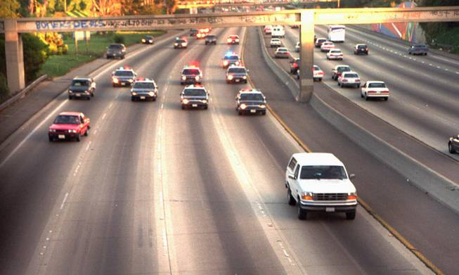 O.J. Simpson Ford Bronco Chase
