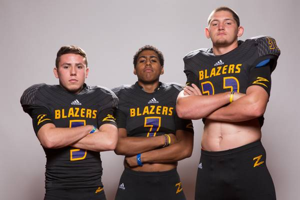 0aca64a5885 The Durango High football team did something tonight that no other program  in the area can claim — the Trailblazers won a league game.