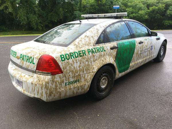 Man to answer charges he sprayed manure on Border Patrol car