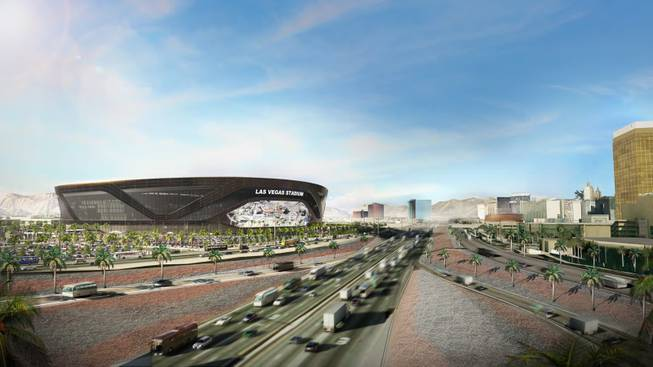 Raiders' Stadium Renderings