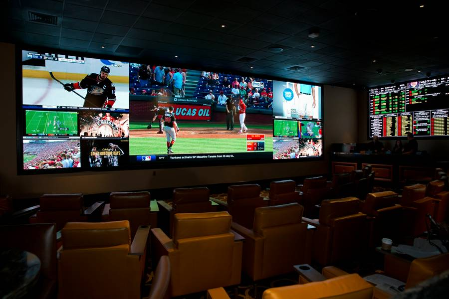The Cromwell opens it's new Sportsbook, Tuesday Aug. 22, 2017.