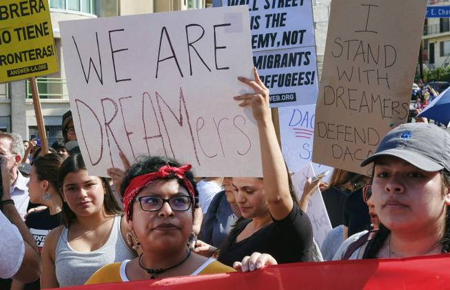 DACA program rescinded as protesters rally