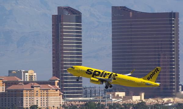 Big month for Spirit leads to spike in McCarran's July passenger numbers