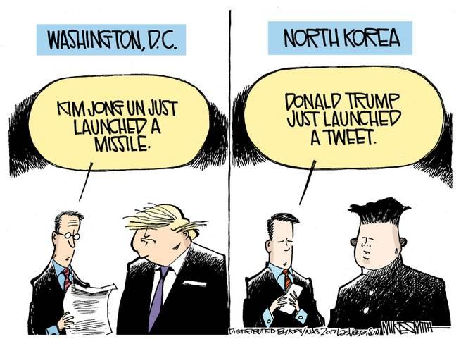 Frame One:  Advisor to Trump says,
