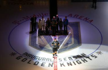 Here's a look at 10 moments that got us on our feet and dropped our jaws — the games and goals that were pivotal in the Knights' unprecedented journey ...