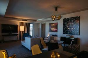 A look inside a newly renovated Terrace One Bedroom in the Boulevard Tower at the Cosmopolitan of Las Vegas on October 10, 2017..