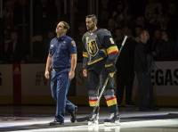 Deryk Engelland is one of us. From the moment he took the microphone before the Vegas Golden Knights home opener and delivered a powerful message about our town's unity in the days after the senseless Oct. 1 massacre, the defender's status in this town has magnified ...