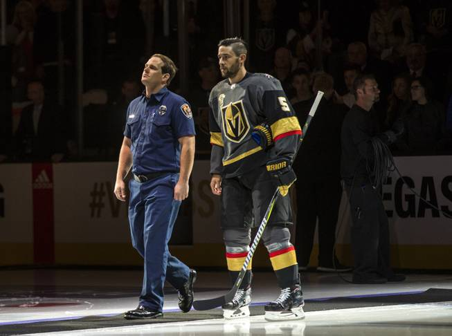 Engelland, The Golden Knights' Go-to Guy, Exemplifies 'Vegas Strong'