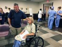 When Lori Kammer left Sunrise Hospital and Medical Center in October 2017, she was in a wheelchair, unable to walk after a two-week stay. During her next visit in May, she hobbled in with the help of a walker. In September, she walked in on ...