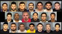 Las Vegas-area police and federal law enforcement agencies have crippled a longtime area gang, indicting most of its members in a state racketeering case, the first in Nevada targeting an entire organization, authorities said. Operation Spartan Fist netted 21 arrests in connection to two murder cases, several attempted murder incidents, drug trafficking and ...