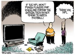 Smith's World: 102017 smith cartoon NFL