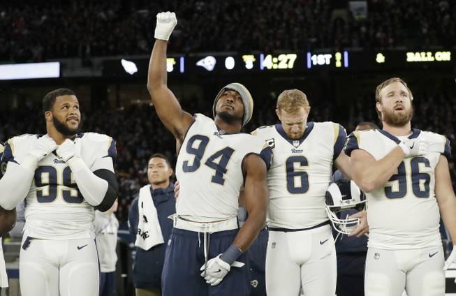 Rams Anthem Protest