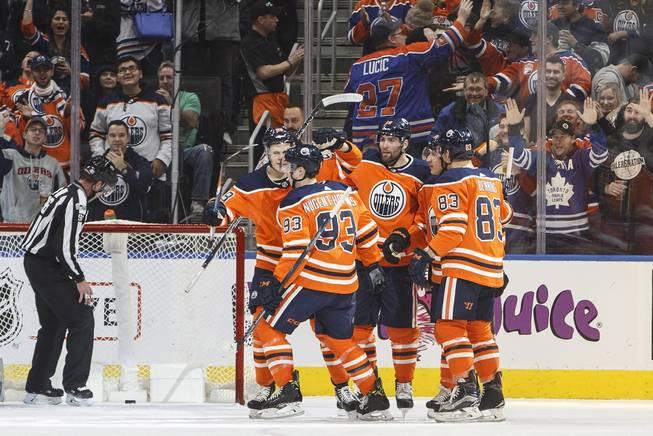 Oilers crush Golden Knights 8-2 in Edmonton - Las Vegas Sun Newspaper 12558284e