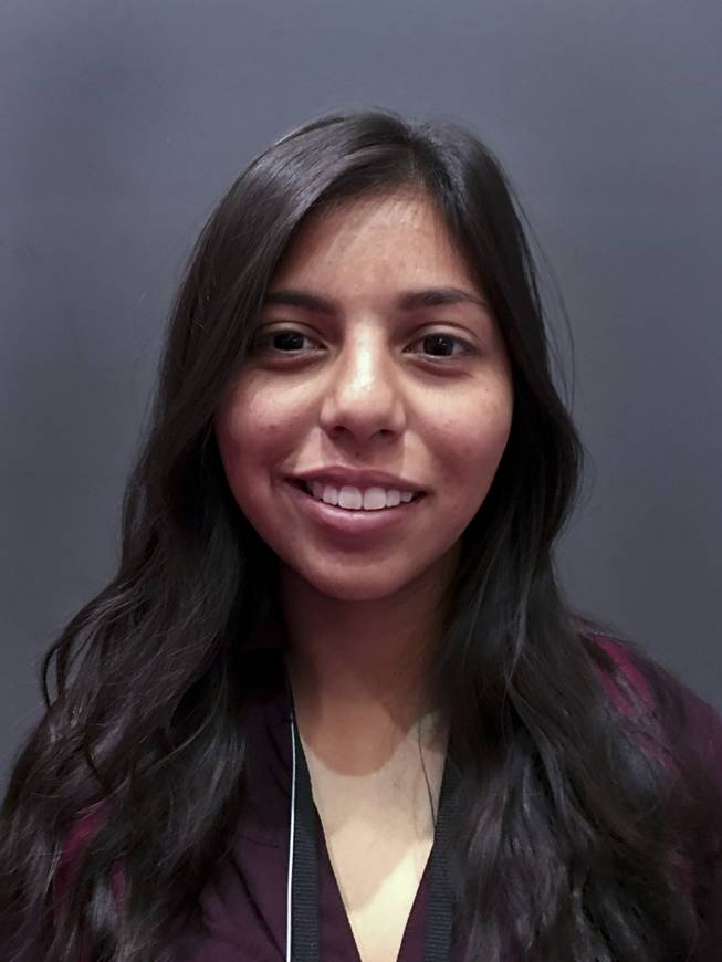 Cathlyn Navarro attends high school at Northwest CTA