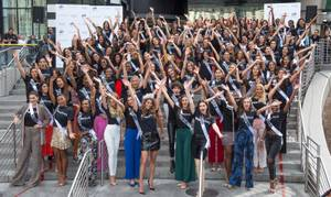 Miss Universe Contestants Arrive in Las Vegas
