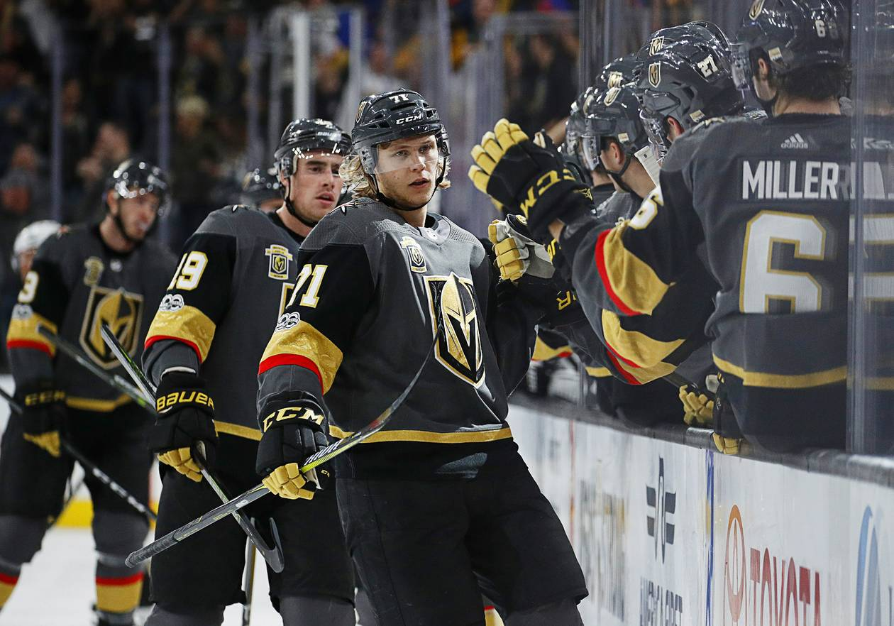 Golden Knights center William Karlsson will be playing in Las Vegas at least one more season, and he'll be gambling on himself. Karlsson agreed to a one-year contract worth $5.25 million ...