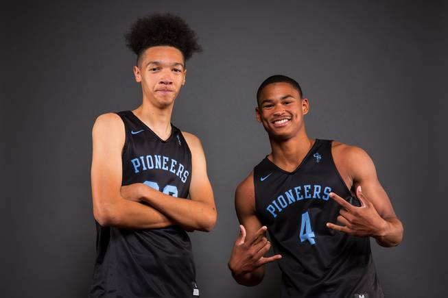 Las Vegas Sun HS Basketball Media Day 2017