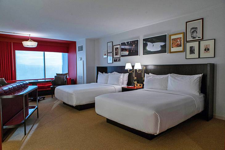 Photos A Look Inside The New Park MGM And NoMad Hotel In Las Vegas Fascinating Hotel With Separate Bedroom Decor Remodelling