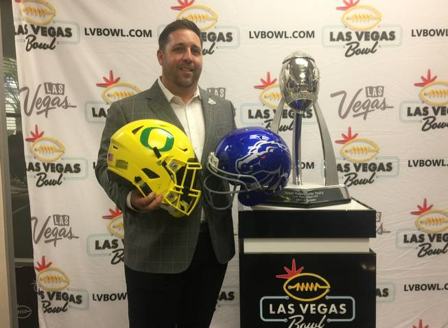 Boise State will face OR in Las Vegas Bowl