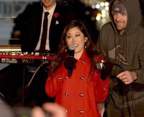 Cosmopolitan Tree Lighting With Kristi Yamaguchi