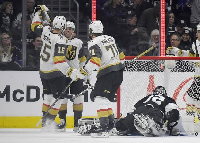 Blog Perron Lifts Golden Knights To Overtime Victory In L A Las