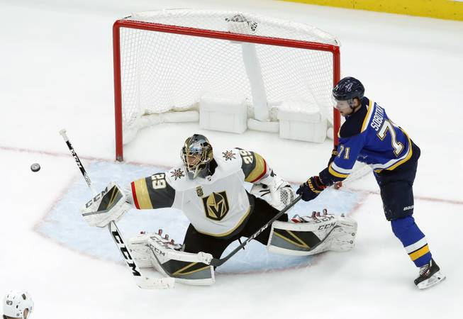Knights blank Predators for 8th consecutive win