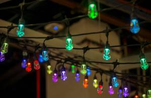 Enbrighten Cafe displays new LED lights which can change colors ...
