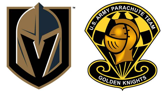 Golden Knights Army Logos