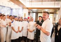 "Gordon Ramsay is too famous to do anything quietly, but he gave it a shot by soft-opening his fifth restaurant in Las Vegas on Jan. 6, an 8,000-square-foot, 300-seat monster themed around his wildly popular reality cooking show ""Hell's Kitchen,"" located Strip-side in front of Caesars Palace in the space formerly occupied by ..."