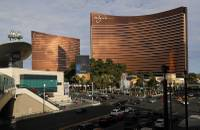 The company building a multibillion-dollar casino-resort with a modern Asian flair on the Las Vegas Strip defended itself in court filings this week arguing it is not copying its design ...