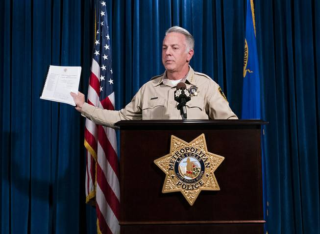 No motive discovered in Las Vegas mass shooting, sheriff says