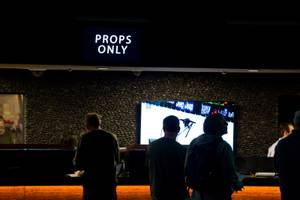Super Bowl prop bets are posted at the Westgate Superbook, ...