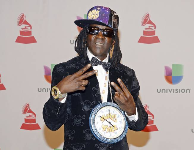 Flavor Flav Caught A Fade In Las Vegas, Pulled Groin Muscle