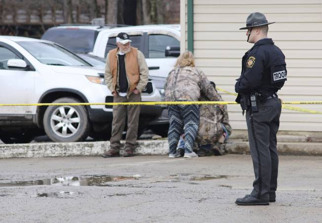 Four killed in shooting at Pennsylvania vehicle wash, suspect in critical condition