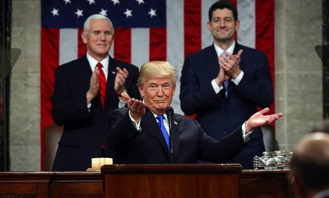 Trump Says US Government Shut Down