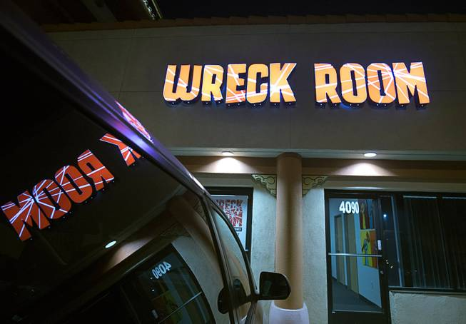 An exterior view of Wreck Room, 4090 Schiff Dr., Friday, Feb. 2, 2018.