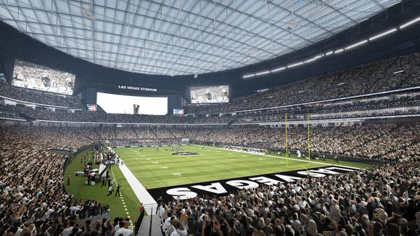 Why a 65,000-seat stadium capacity suits the Raiders in Las